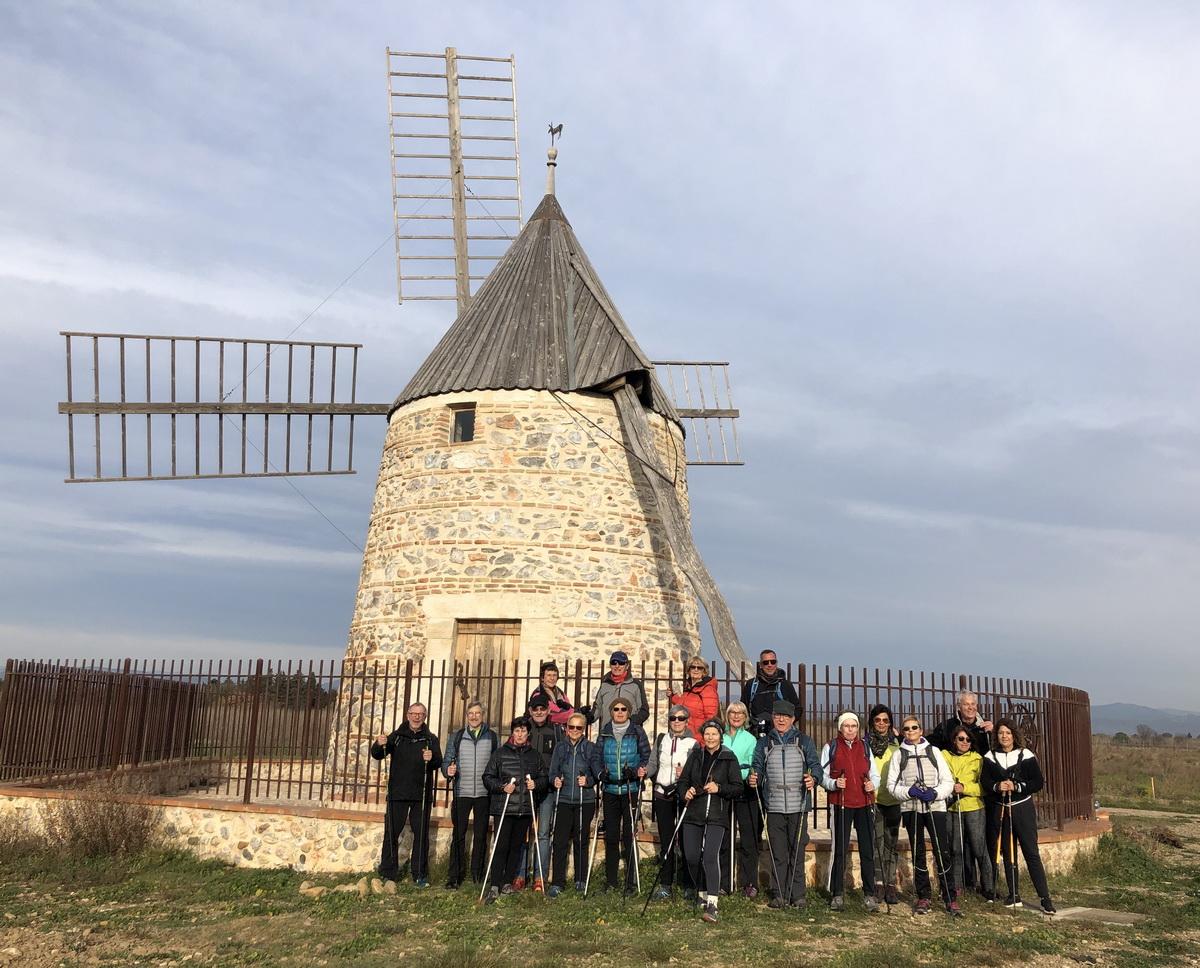 15 janvier - Le moulin de Claira