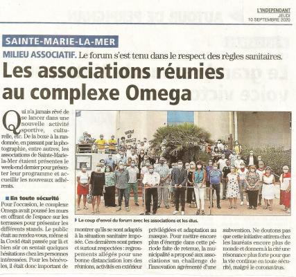 Article indep forum asso