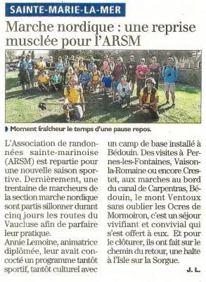 Article indep vaucluse 18 10 20