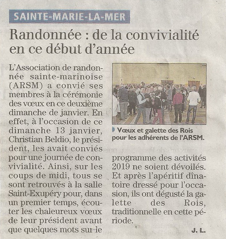 Voeux arsm 2019 article independant